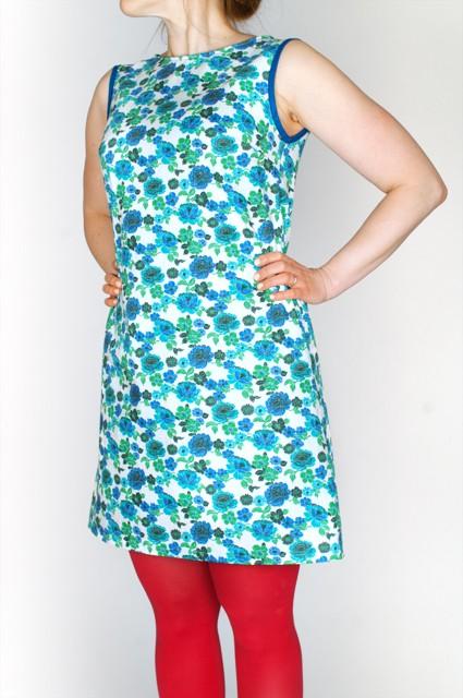kerstin retrodress turquoise