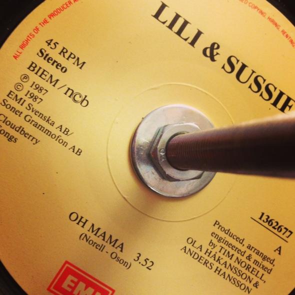 lili och sussie oh mama vinyl