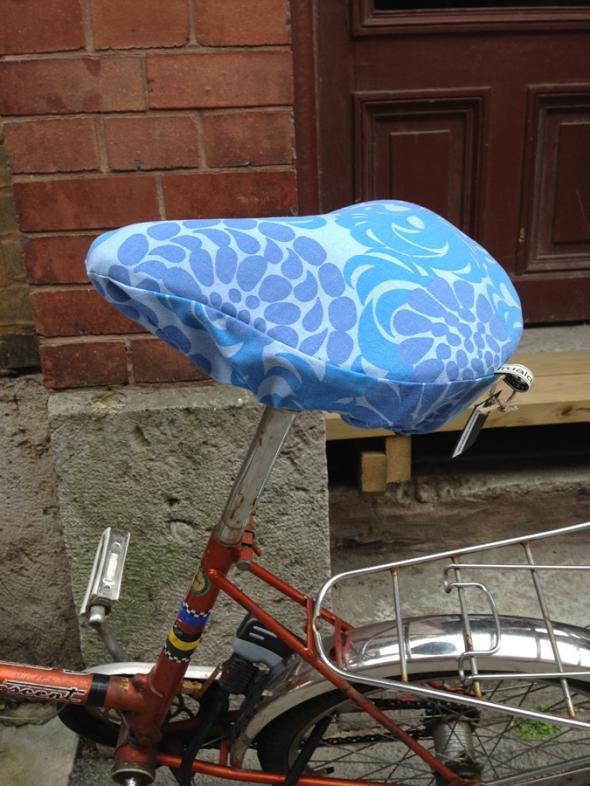 retro cykelsadelöverdrag