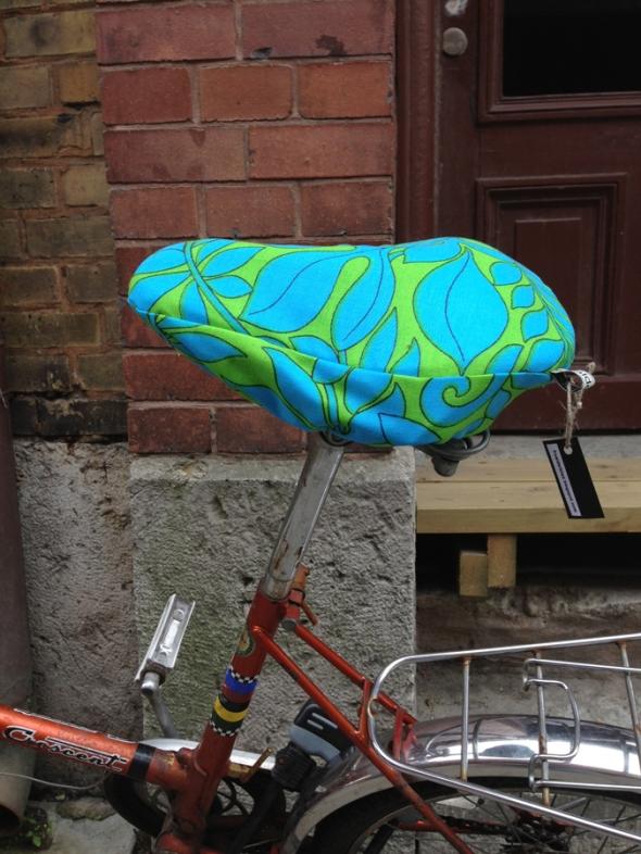 sadelöverdrag till cykel