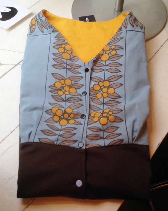 återbruk re-sedign klänning 50s spooon