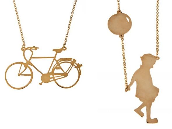 cykelhalsband mässing fin present