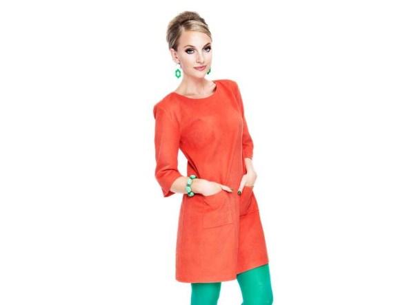 orange aprikos klänning i manschester