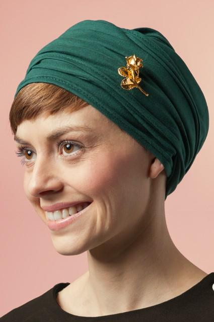 turban grön