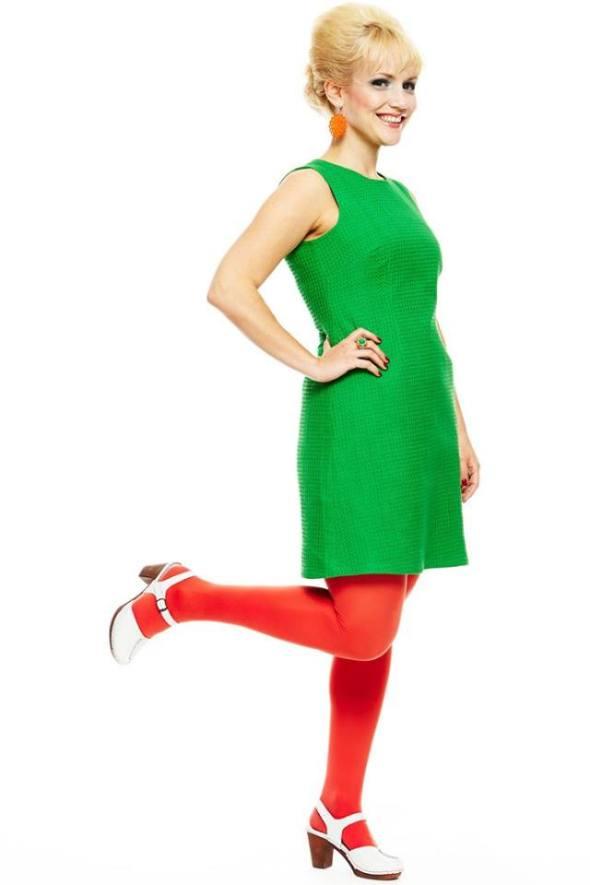 cissi grön klänning